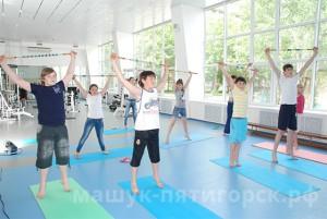 Зал лечебной гимнастики